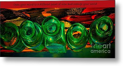 A Different Point Of View Metal Print by Pamela Blizzard