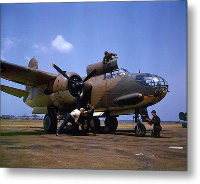 A Douglas A-20c-bo Havoc 1942 Metal Print by Celestial Images