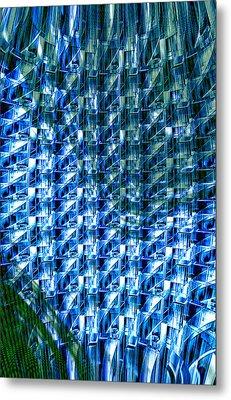 Digital Reflections Metal Print