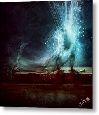 A Dying Wish Metal Print by Mario Sanchez Nevado
