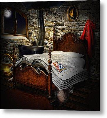 A Fairytale Before Sleep Metal Print by Alessandro Della Pietra