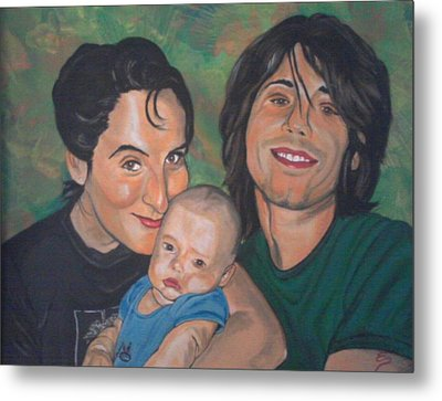 A Family Portrait Metal Print