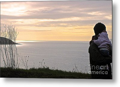 A Father's Love Metal Print by Suzanne Oesterling