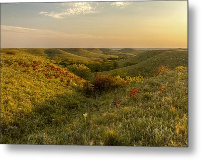 A Flint Hills View Metal Print by Scott Bean