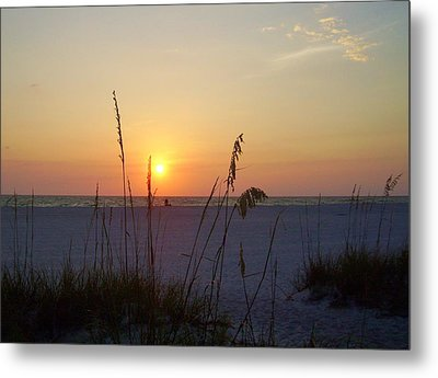 A Florida Sunset Metal Print