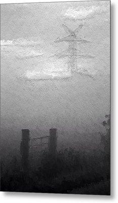 A Foggy Day Metal Print by Steve K