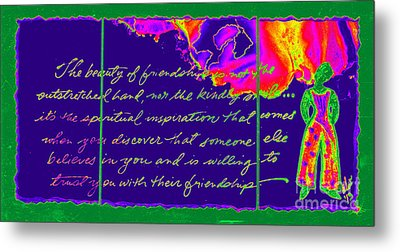 A Friendship Letter Metal Print