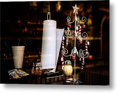 A Fritos Kind Of Christmas Metal Print by Melinda Ledsome