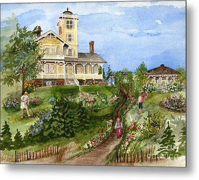 A Garden For All Ages Metal Print