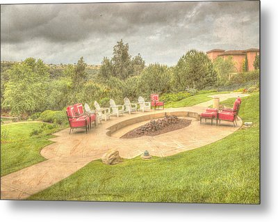 A Gathering Of Friends Metal Print by Heidi Smith