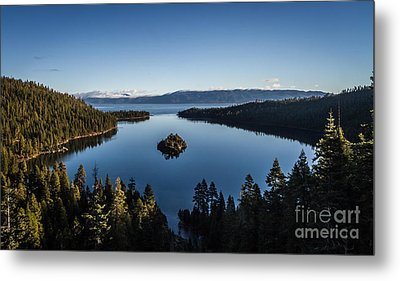 A Generic Photo Of Emerald Bay Metal Print