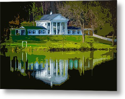 A Georgian Manner Bed And Breakfast 2 Metal Print