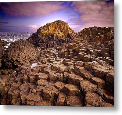 A Giant's Footsteps Metal Print