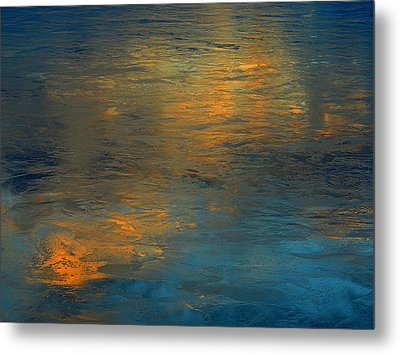 A Gift Of Gold Metal Print by Dennis James