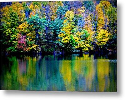 A Glorious Autumn Metal Print by Jon Van Gilder