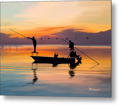 A Glorious Day Metal Print by Kevin Putman