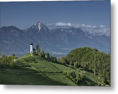 A God's Place Metal Print by Robert Krajnc