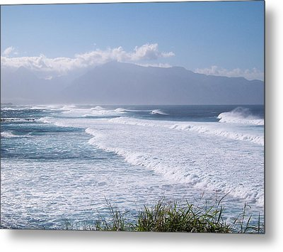 Metal Print featuring the photograph A Good Day To Stay Out Of The Water. by Sheila Byers