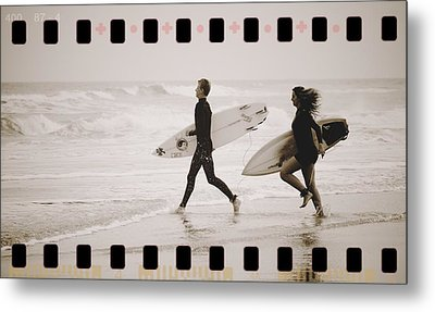 Metal Print featuring the photograph A Good Day To Surf by Alice Gipson