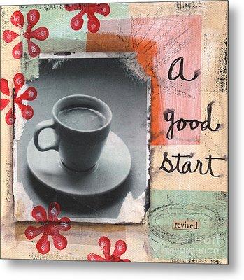 A Good Start Metal Print by Linda Woods