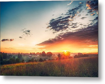 Metal Print featuring the photograph A Goode Sunrise by Joshua Minso
