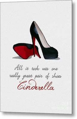 A Great Pair Of Shoes Metal Print by Rebecca Jenkins