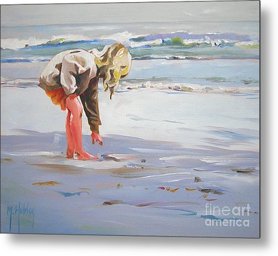 A Great Shell Metal Print by Mary Hubley