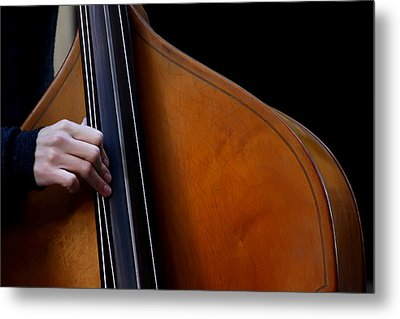 A Hand Of Jazz Metal Print
