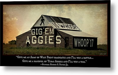 A Handful Of Aggies Metal Print