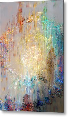 A Heart So Big - Custom Version 2 - Abstract Art Metal Print by Jaison Cianelli