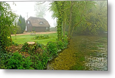A Home By The River Anton Metal Print