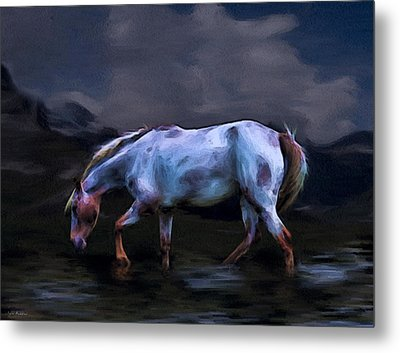 A Horse Of Many Colors Metal Print by Tyler Robbins