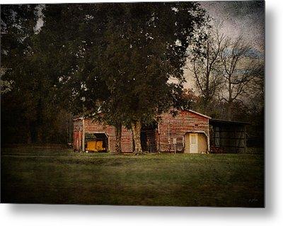 A House Or A Barn Metal Print by Jai Johnson