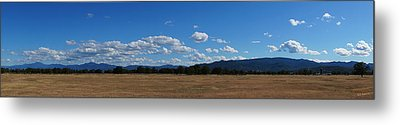 A June Panorama In Southern Oregon Metal Print