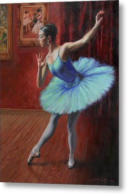 A Legacy Of Elegance Metal Print by Anna Rose Bain