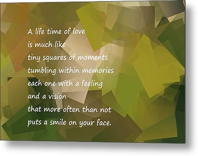 A Life Time Of Love Metal Print by Jeff Swan