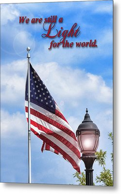 A Light For The World Metal Print by Larry Bishop