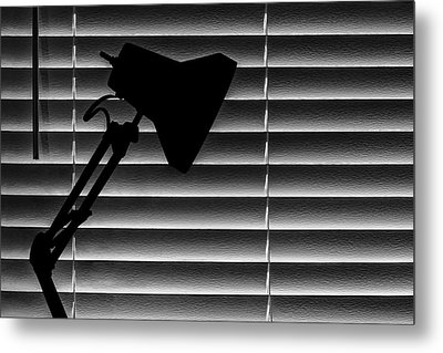 A Light In The Dark Still Life Metal Print