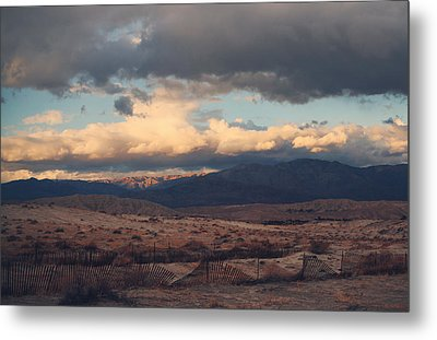 A Light In The Distance Metal Print by Laurie Search