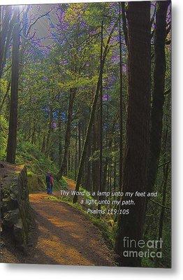 A Light Unto My Path Metal Print by Charles Robinson