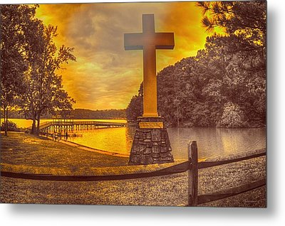 Metal Print featuring the photograph A Light Unto The World by Dennis Baswell