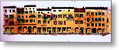 Metal Print featuring the drawing A Little Bit Of Bologna by William Renzulli