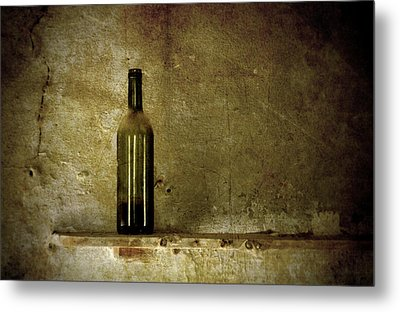 A Lonely Bottle Metal Print by RicardMN Photography