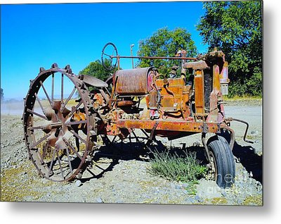 A Long Right Hand Turn  Metal Print by Jeff Swan