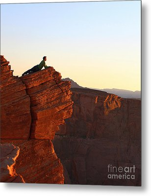 A Look At The Canyon Metal Print by Dipali S