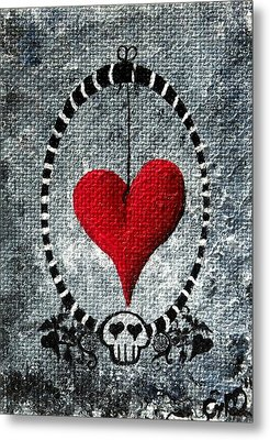 A Love Story 5 Metal Print by Oddball Art Co by Lizzy Love