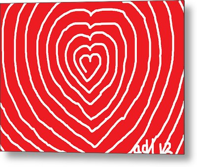 A Love That Is Without Limits Metal Print by Anita Dale Livaditis