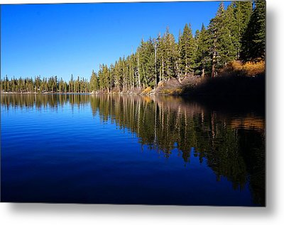 A Mammoth Lake Metal Print