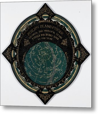 A Map Of The Stars Metal Print