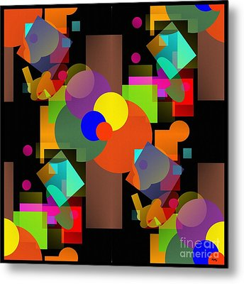 A Matter Of Perspective Too - Series Metal Print by Glenn McCarthy Art and Photography